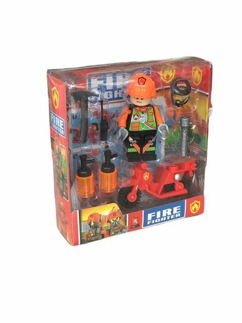 Oyuncak Lego Figürlü İtfaiye Seti