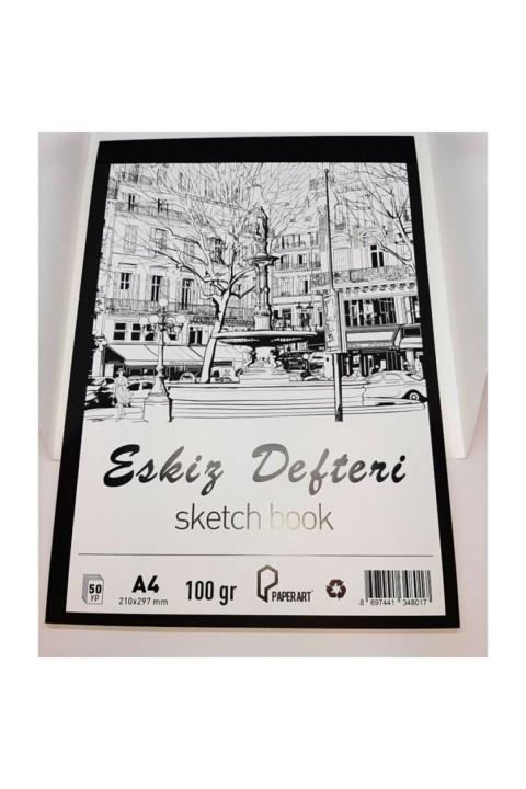 PaperArt 50yp 100gr Dikişli Eskiz Defteri -A4