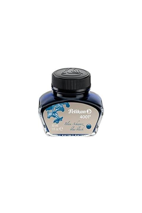 Pelikan 4001 Dolmakalem Mürekkebi 30ml Mavi Siyah
