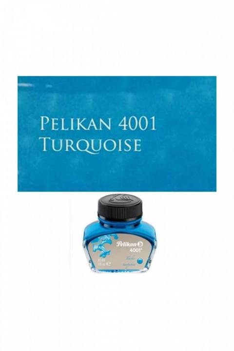 Pelikan 4001 Dolmakalem Mürekkebi 30ml Turkuaz
