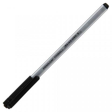 Pensan Triball 1mm Tükenmez Kalem - Siyah