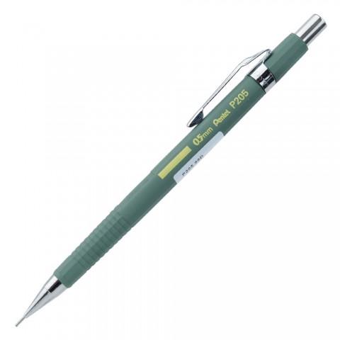 Pentel Sharp 2021 Koleksiyon P205 0.5mm Mekanik Kurşun Kalem - Haki Yeşil