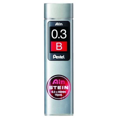 Pentel Ain Stein 0.3 mm B 15'li Min (Uç)