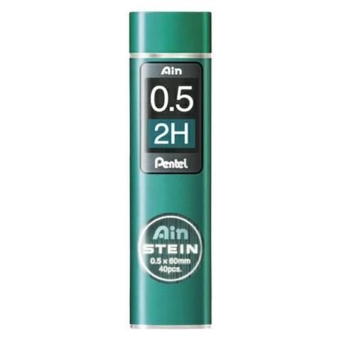 Pentel Ain Stein 0.5 mm 2H 40'lı Min (Uç)