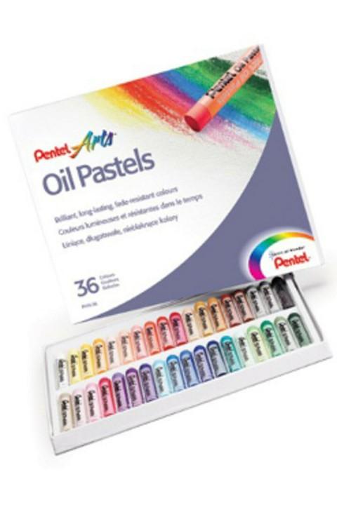 Pentel Arts Yağlı Pastel Boya - 36 Renk