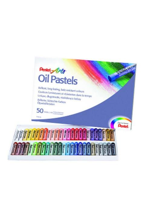 Pentel Arts Yağlı Pastel Boya - 50 Renk