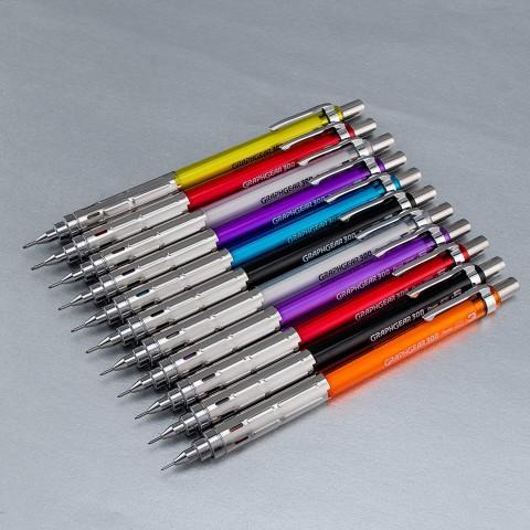 Pentel GraphGear 300 0.5 mm Mekanik Kurşun Kalem - Beyaz