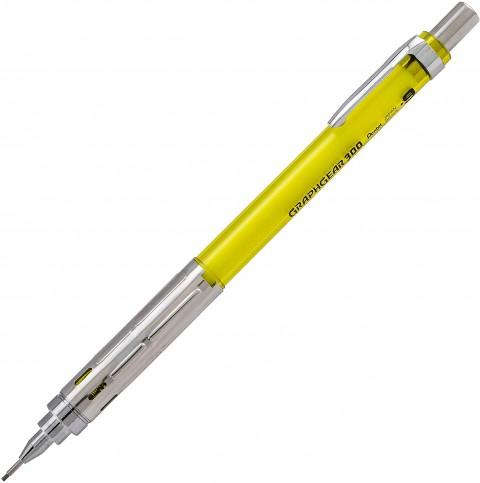 Pentel GraphGear 300 0.9 mm Mekanik Kurşun Kalem - Sarı
