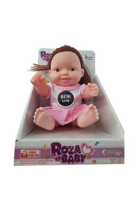 Roza Bebek Sesli Konuşan - Kızıl Saçlı