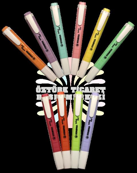 Stabilo Swing Cool 10'lu Tüm Pastel Renkler Set