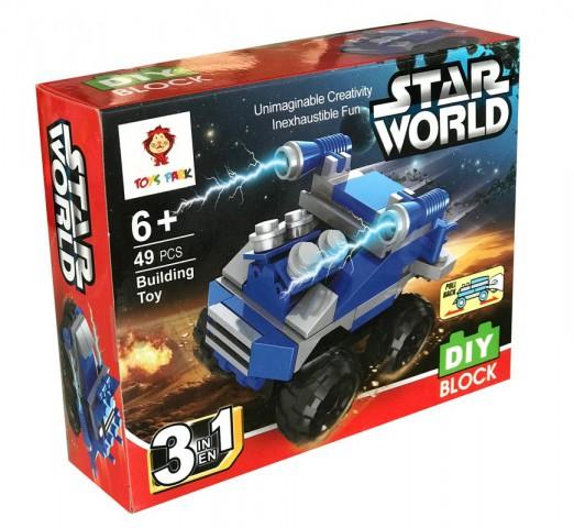 Star World Oyuncak Lego Araba 49 Parça