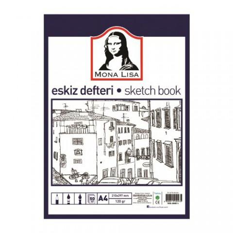 Südor Eskiz Defteri (Sketch Book) A4 120 G 50 Yp