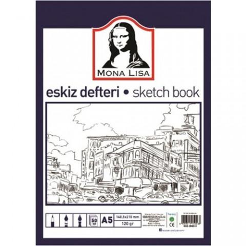 Südor Eskiz Defteri (Sketch Book) A5 120 G 50 Yp
