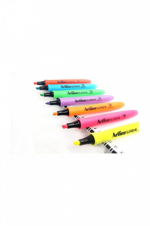 Artline Supreme Highlighter Fosforlu İşaretleme Kalemi Set (7 Renk)