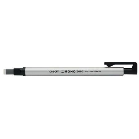 Tombow Mono Zero Basmalı Kalem Silgi 2,5x5mm - Gümüş