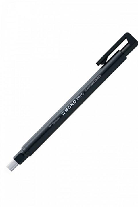Tombow Mono Zero Basmalı Kalem Silgi 2,5x5mm - Siyah