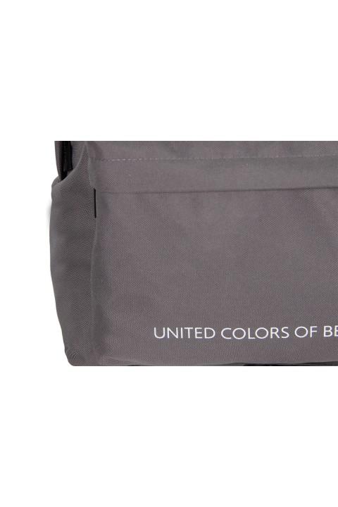 United Colors of Benetton 2021 Yeni Sezon Sırt Çantası Gri 70682