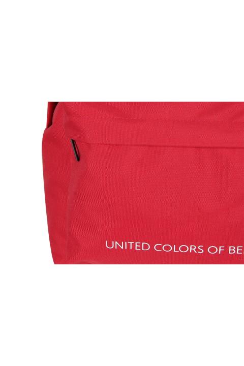 United Colors of Benetton 2021 Yeni Sezon Casual Sırt Çantası Kırmızı 70688