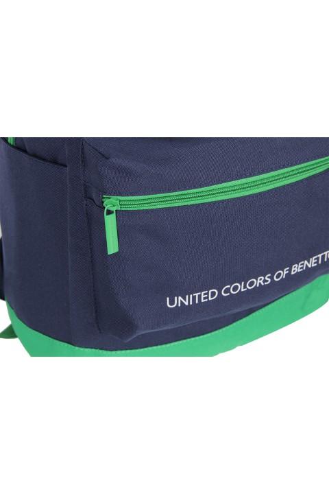 United Colors of Benetton 2021 Yeni Sezon Casual Sırt Çantası Lacivert 70415