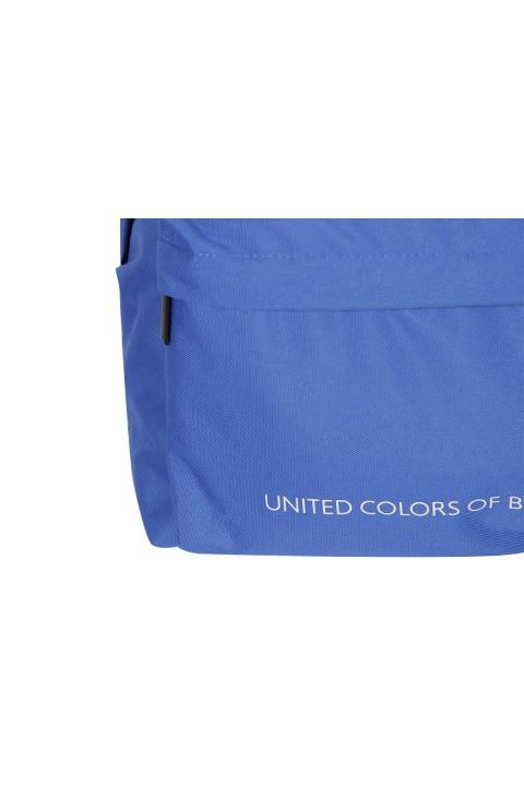 United Colors of Benetton 2021 Yeni Sezon Casual Sırt Çantası Mavi 70684