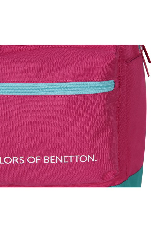 United Colors of Benetton 2021 Yeni Sezon Casual Sırt Çantası Pembe 70407