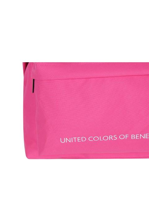 United Colors of Benetton 2021 Yeni Sezon Casual Sırt Çantası Fuşya 70687