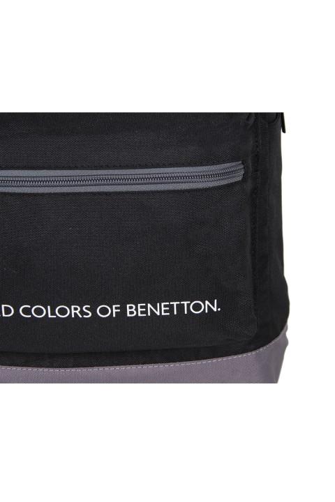 United Colors of Benetton 2021 Yeni Sezon Casual Sırt Çantası Siyah 70419