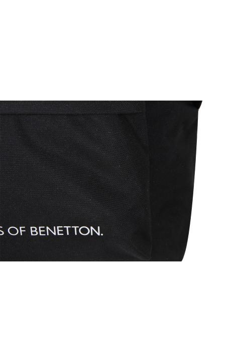 United Colors of Benetton 2021 Yeni Sezon Sırt Çantası Siyah 70685