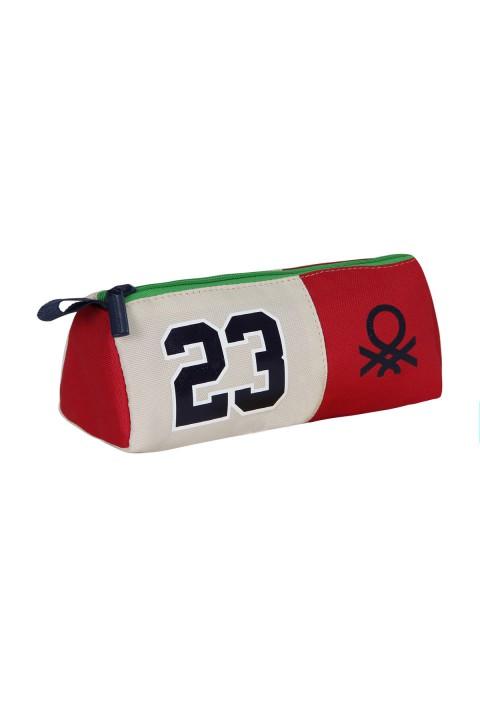 United Colors of Benetton 2021 Yeni Sezon Tek Gözlü Kalem Kutu Kırmızı 70219