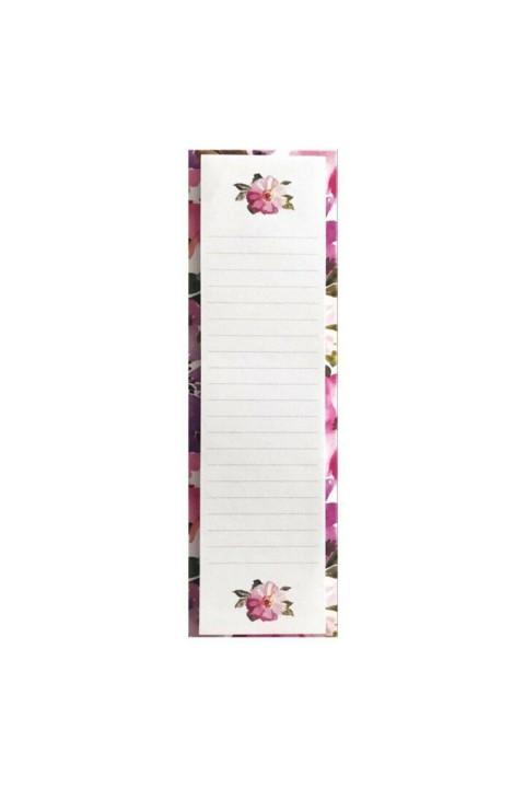 Victoria's Journals Slim Sticker 5.5x18.5cm - Water Color Pink