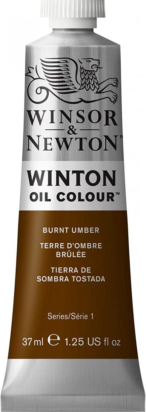 Winsor Newton Winton Yağlı Boya 37ml - Burnt Umber 076
