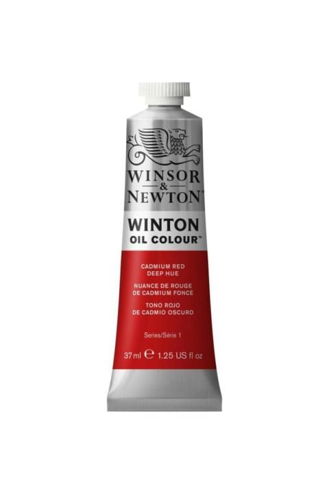 Winsor Newton Winton Yağlı Boya 37ml - Cadmium Red Deep Hue 098