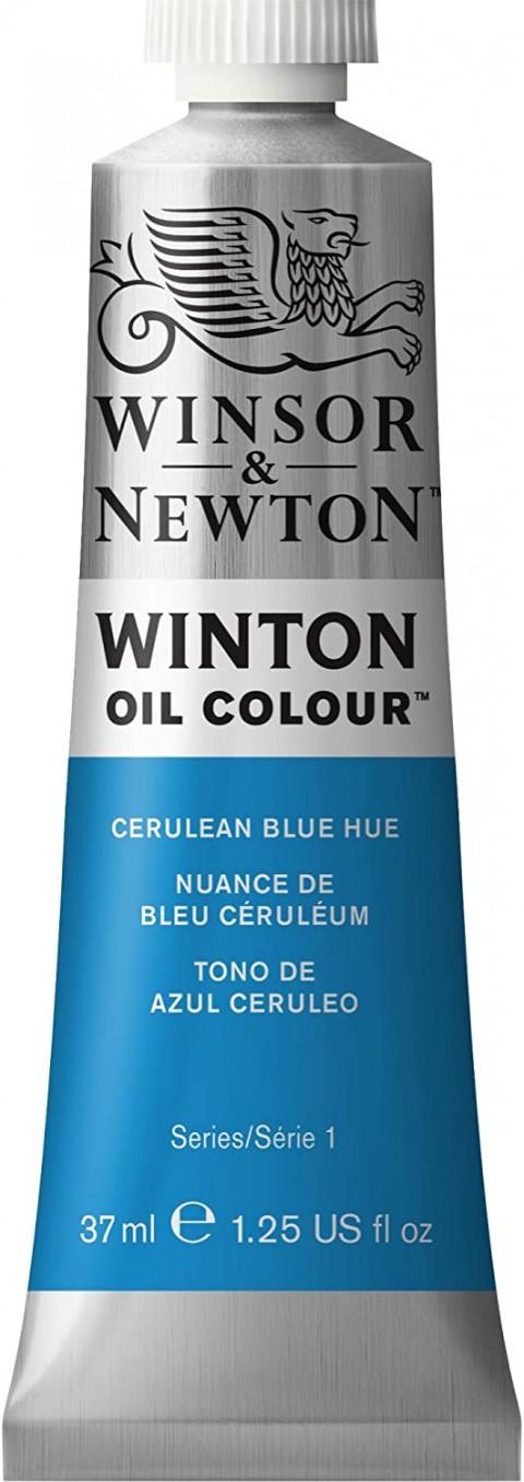 Winsor Newton Winton Yağlı Boya 37ml - Cerulean Blue Hue 138