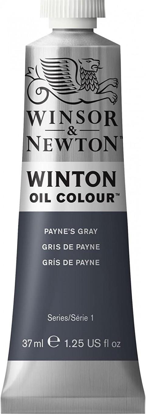 Winsor Newton Winton Yağlı Boya 37ml - Payne's Gray 465