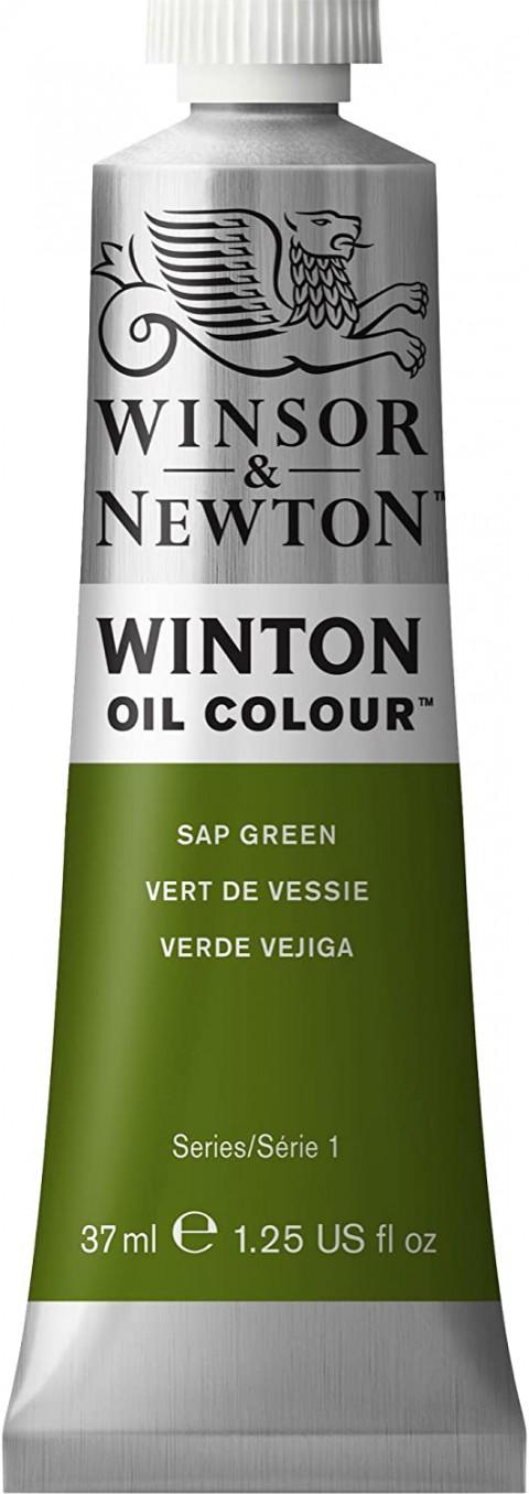 Winsor Newton Winton Yağlı Boya 37ml - Sap Green 599