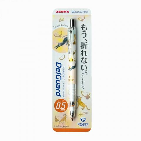 Zebra Delguard Summer Study Limited Edition 0.5mm Mekanik Kurşun Kalem - Pastel Turuncu